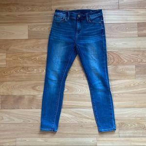 💚 3/$20 LOFT outlet skinny ankle jeans-size 0P